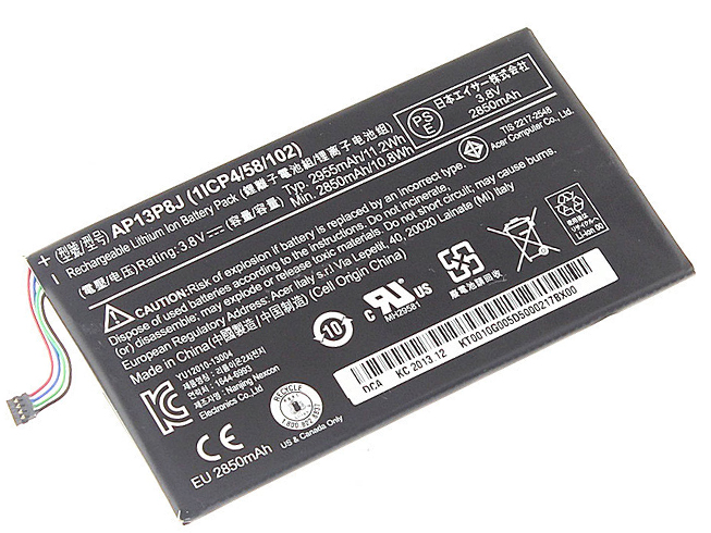 AP13P8J Acer Iconia Tab B1-720 Tablet Battery (1ICP4/58/102)