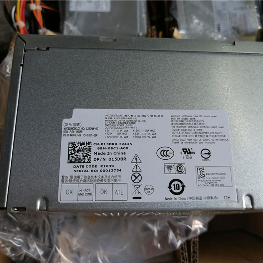PS-6351-6DF Dell XPS 8910 8500 8700 8920